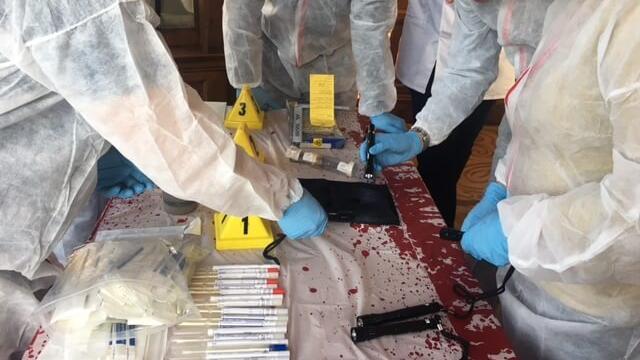 Team building CSI Experience Game 5
