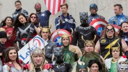superhero captain america costumes
