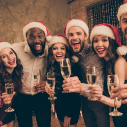 Virtual Christmas Party People