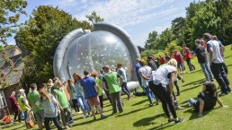 The crystal dome maze