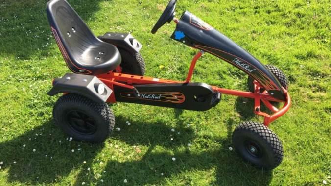 Wacky Racer Cart