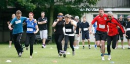 team building sports race