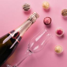 Virtual Christmas Party Prosecco & Chocolates