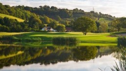 Celtic manor resort's lakeside