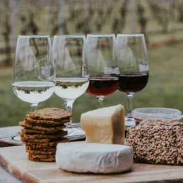 Virtual Cheese & Wine Tasting Wines & Cheeses