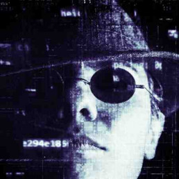 Virtual Team Building Hacker Man
