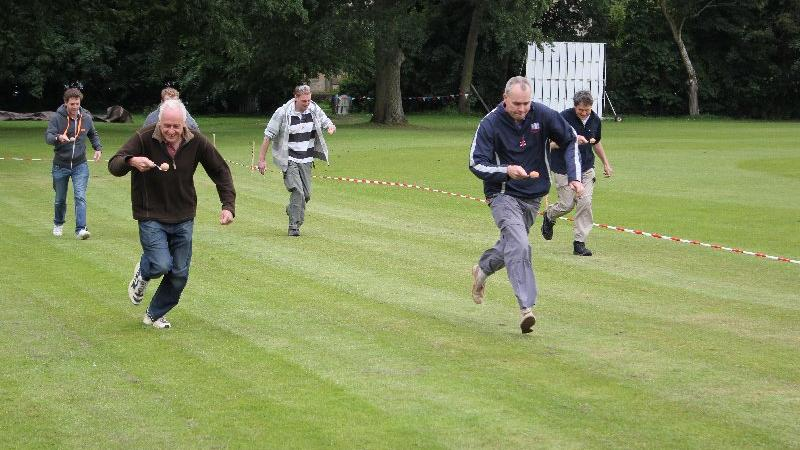staff egg and spoon race