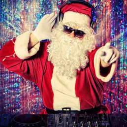 Virtual Christmas Parties DJ Santa