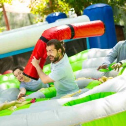 Total Wipeout Team Building Gladiator Joust