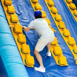 Total Wipeout Team Building Inflatable Ladder