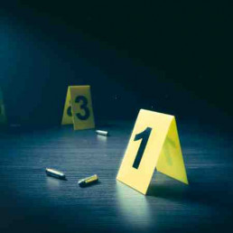 Virtual Team Building Crime Scene Experience Bullets and Markers