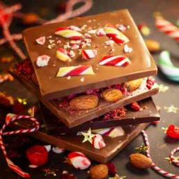 Virtual Chocolate Making Christmas Chocolate